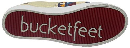 BucketFeet Mens Itzen Canvas Lace-Up 10 BLGJxGDof