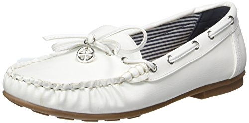 Jane Klain Damen 242 424 Mokassin Weiß (WHITE)