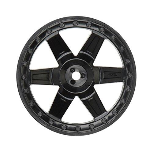 Pro-Line Racing 273003 Desperado 2.8 Rear Wheels, Black (2)