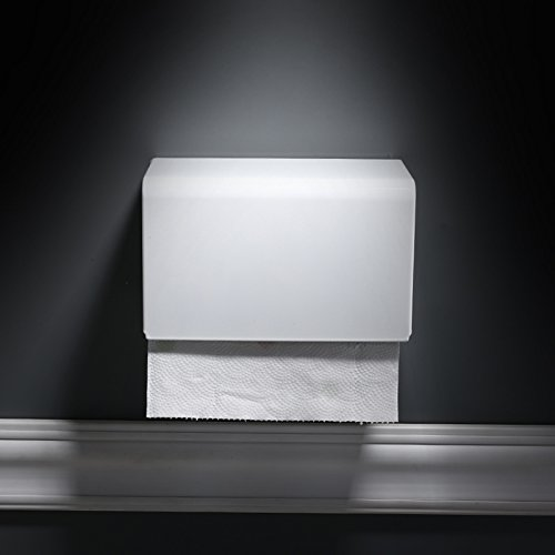 SFSYDDY-Space Aluminum Toilet Carton Non - Punched White Paper Rack Upper Cover Type Paper Towel Box Bathroom Paper Towel Rack