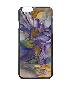 """Purple Flame Hard Customized Case Cover , Iphone 6 (4.7"""") Case Cover, Protection Quique Cover, Perfect Fit, Show Your Own Personalized Phone Case for Iphone 6 - 4.7 Inches"""