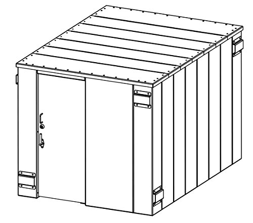 Swisher SR84X114G ESP Safety Shelter With Capacity Up To