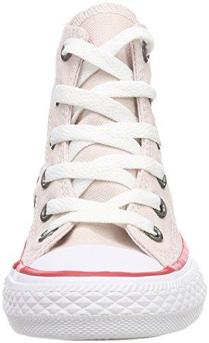 Converse Ctas Hi, Zapatillas Altas Unisex Niños Pink (Barely Rose/Enamel Red/White)