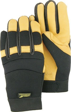 XL Golden Eagle Deerskin Mechanics Gloves (12/Pack) - R3-2150/11