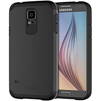 Galaxy S5 Case, JETech Super Protective Samsung Galaxy S5 Case Slim Ultra Fit for Galaxy S5 / Galaxy SV / Galaxy S V (Black) - 3010