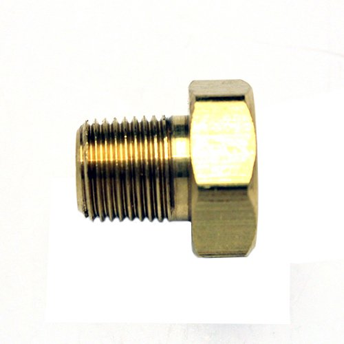 0.672 Long 1//8-27 NPT Threads 5//8 Hex Size 0.672 Long Anderson /& Forrester TM Anderson /& Forrester PO537-72 Flat Tip Plug Orifice LP 5//8 Hex Size