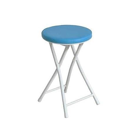 Wondrous Amazon Com Ttd Cjc Stools Chair Round Folding Kitchen Unemploymentrelief Wooden Chair Designs For Living Room Unemploymentrelieforg