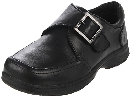 Kenneth Cole Reaction On Check 2 Slip-On ,Black,5 M US Toddl