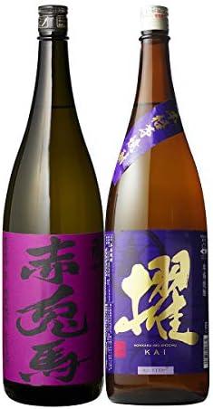 焼酎セット 紫の赤兎馬 櫂 芋焼酎 25度 1800ml 2本セット いも焼酎 飲み比べ せきとば かい 特約店限定 九州限定