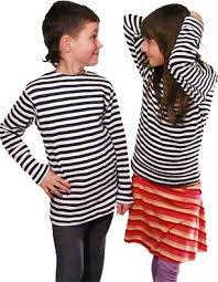 Kids' Long-Sleeved Telnyashka Russian NAVY Striped Shirt (8-years)