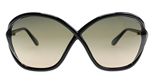 Lunettes de soleil Tom Ford Bella FT0529 C71 01B (shiny black / gradient smoke)