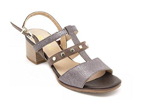 Loren - Sandalias de vestir para mujer marrón marrón s8W2tLY