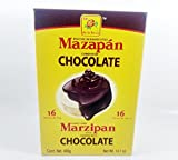 Box De La Rosa Mazapan covered chocolate of 16 Pieces Mexican Candy with Free Kinder Bar Valentine's Day