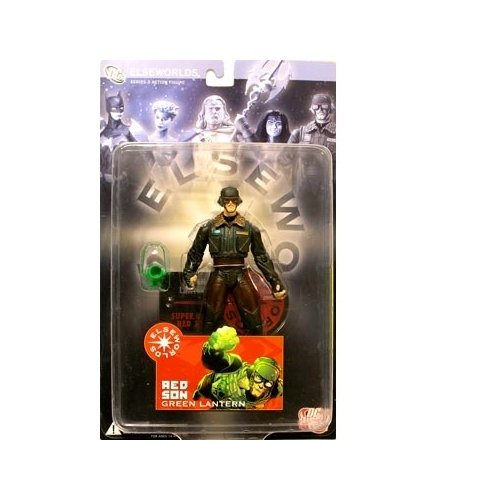 Elseworlds Series 3 Red Son Green Lantern Action Figure