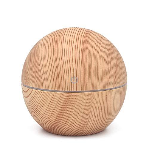 IslandseAir Aroma Essential Oil Diffuser LED Ultrasonic Aroma Aromatherapy Humidifier ()