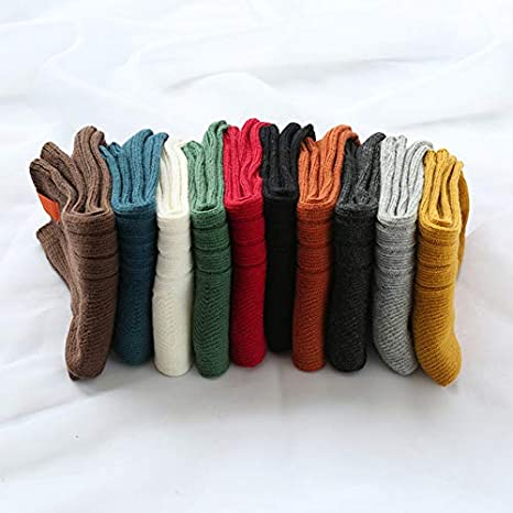 Amazon.com: 1Pair Warm Women Socks Striped 3D Socks Autumn Winter Style Christmas Winter Socks For Woman Female Funny Sock Calcetines Meias - Dark Grey: ...