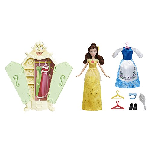 Disney Princess Belle with Wardrobe Fashion Doll - Style Fashion Wardrobe