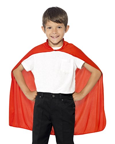 ape, Red, Mid Length, One Size, 44076 (Red Child Cape)