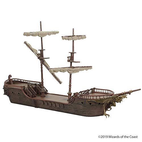 D&D Icons of The Realms: The Falling Star Sailing Ship!