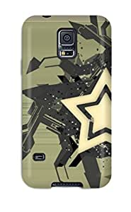 Tpu Case For Galaxy S5 With Watch The Stars Brown White Black Grey