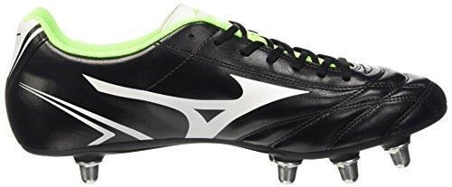 ... Mizuno Herren Monarcida Rugby Si Rugbyschuhe Black (Black/White/Green  Gecko)