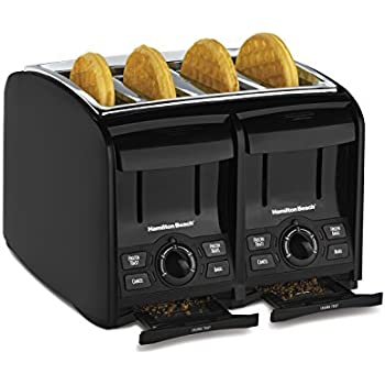 Hamilton Beach 4 Slice Cool Touch Toaster (24121)