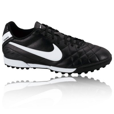 7f2a9a701603 Nike Unisex-Child Tiempo Natural Iv Astro Turf Football Black Textile Boot  J3 3.5 M