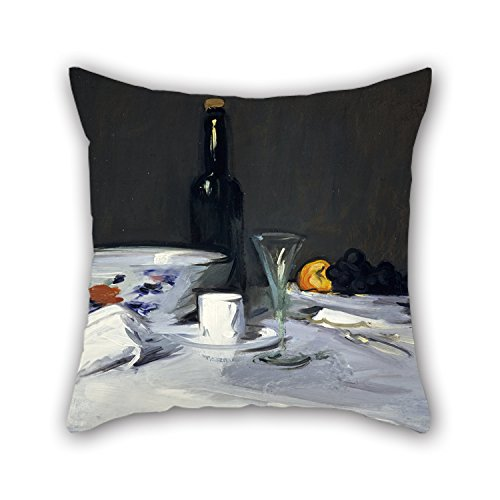 Lounge Bottle (Oil Painting Samuel John Peploe - The Black Bottle Throw Pillow Case ,best For Lounge,kids Boys,bf,gril Friend,monther,lover 20 X 20 Inches / 50 By 50 Cm(twin Sides))