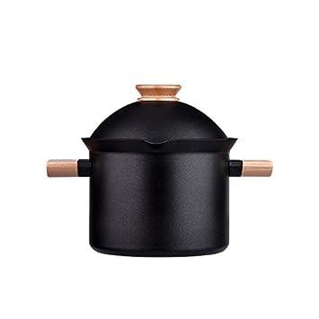 SDS-COM Cacerola de hollín Antiadherente en Olla Creativa de Gran Capacidad con 20 cm: Amazon.es: Hogar