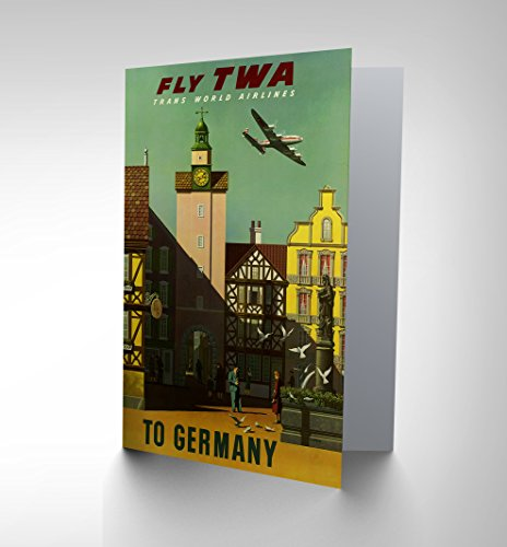 new-travel-twa-airline-germany-advertising-retro-bday-greetings-card-cp1351