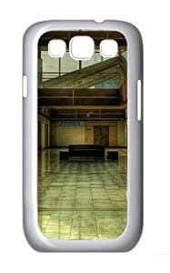 Building Lobby PC Case Cover for Samsung Galaxy S3 and Samsung Galaxy I9300 White