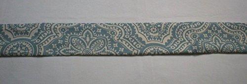 Handmade Door Draft Stopper Blocker UNFILLED, Blue (DraftBlocker6085)