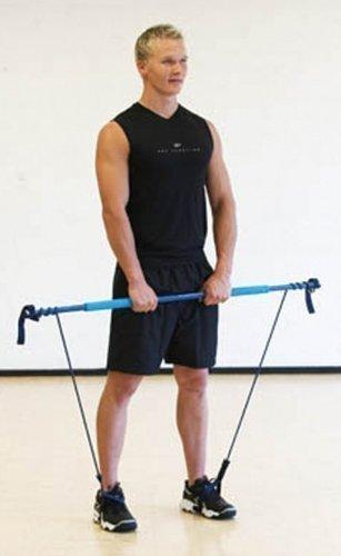 Original 'Gymstick leicht/grün' - ideales Trainingsgerät für Rehabilitation und Fitnesstraining von älteren Menschen Fitnessgerät