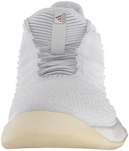 W Erica Bianco Scarpa 3 Adidas Opaco Ubersonic Adizero Prestazioni Femminile Grigio Solido Argento Ltd Tennis Da 7WWqFXS