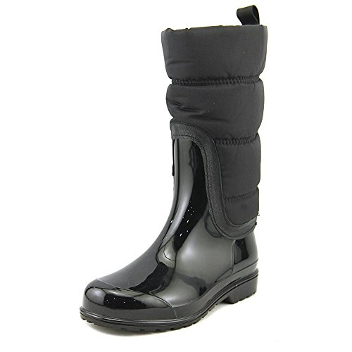 - MICHAEL Michael Kors Women's Cabot Quilted Rain Boot Admiral/Black Rubber/Nylon/Saffiano Boot