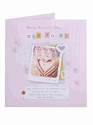 Carlton Cards Mum To Be Happy Mother's Day Card Expectant Mother Greeting ()