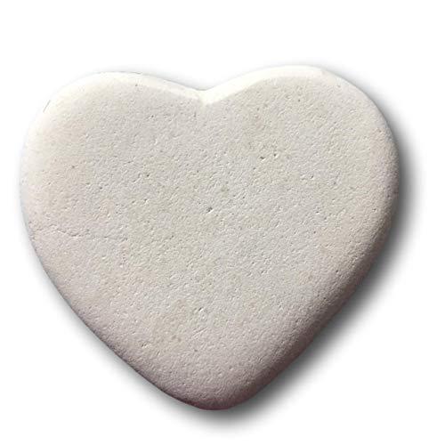 - Stone Cheer Heart Shape Natural River Rock 2
