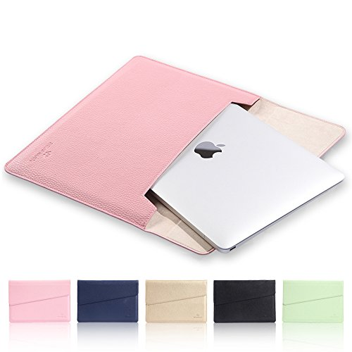15.4 inch Laptop Case Laptop Sleeve,Dream Wings Slim MacBook Bag Tablet Bag,Protective Notebook Bag Envelope Package Carrying Case Cover for all 15 inch-15.4 inch Display PC (15 inch-15.4 inch, Pink)