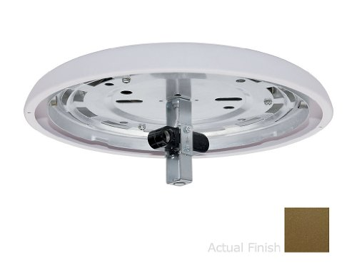 Two Light Integrated Low Profile Ceiling Fan Fitter Finish: Oil Rubbed (73 Oil Rubbed Bronze Fan)