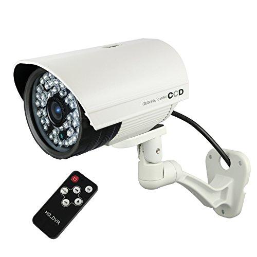 公式サイト SDカード防犯カメラ 64GB microSDXC対応 外部電源 屋外 録画装置内蔵 防水防塵仕様 赤外線カメラ(OL-022W)ホワイト B01LW1J3B6 強力赤外線LED 監視カメラ 24時間常時録画 暗視撮影 監視カメラ リモコン付 外部電源 外部出力 オンロード OnLord B01LW1J3B6, 加賀人形:d6d03b07 --- arianechie.dominiotemporario.com