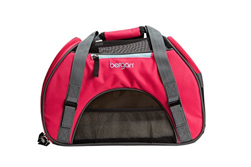 Bergan Comfort Carrier for Pets, Berry, Small 16