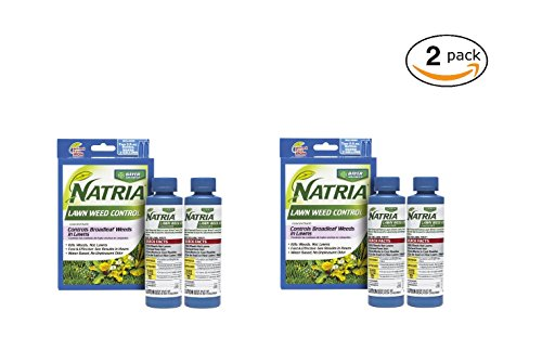 Bayer Advanced BAYER NATRIA LAWN WEED KILLER 2 PACK CONC. 10oz (Four 5oz Bottles) - Conc Weed Killer