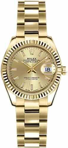 Rolex Lady-Datejust 26 Yellow Gold Women's Luxury Watch 179178