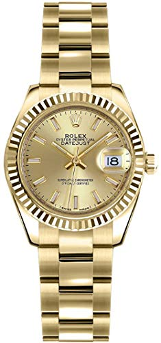 Rolex Lady-Datejust 26 Yellow Gold Women's Luxury Watch 179178