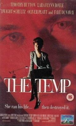 The Temp (VHS) (1993): Amazon.co.uk: Video