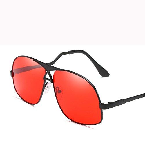 Personalidad DONG Color sol sol de del Sra Gafas del Gafas al Regalos Conducción de Metal Gafas hombre padre de día Espejo de moda de F libre D aire Gafas sol rpq8wXp