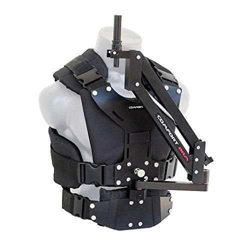 FLYCAM Comfort Stabilizing Arm & Vest for Flycam 5000/ 3000/DSLR Nano Handheld Camera Video Steadycam Stabilizer up to 5kg/11lb | Stabilization Body mount System for camcorders Stabilization (CMFT-AV)