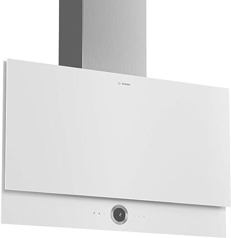 Bosch Serie 8 DWF97RV20 Montado en pared 730m³/h A Acero inoxidable, Color blanco campana: Amazon.es: Grandes electrodomésticos