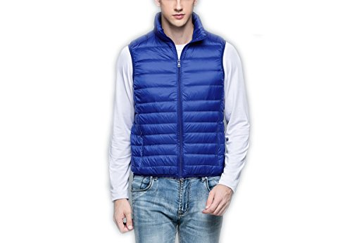 Sapphire Doudoune Down Homme Stand light Blue Ultra Veste Weatherproof Manteau Blousons Collar Ake 6UqPz