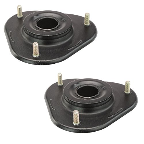 (Front Upper Shock Strut Mount Kit Plate Bearing Pair Set of 2 For Corolla Celica)